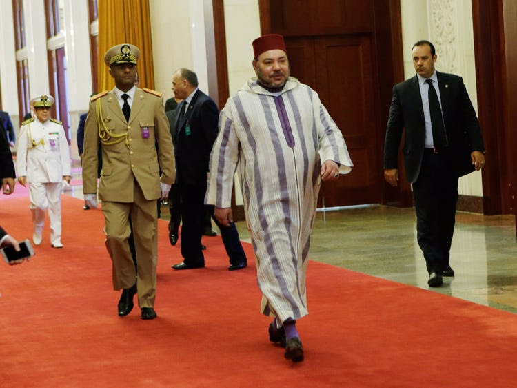 Morocco Moroccan King Mohammed