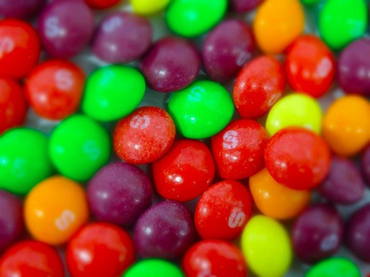 healthy halloween candy skittles