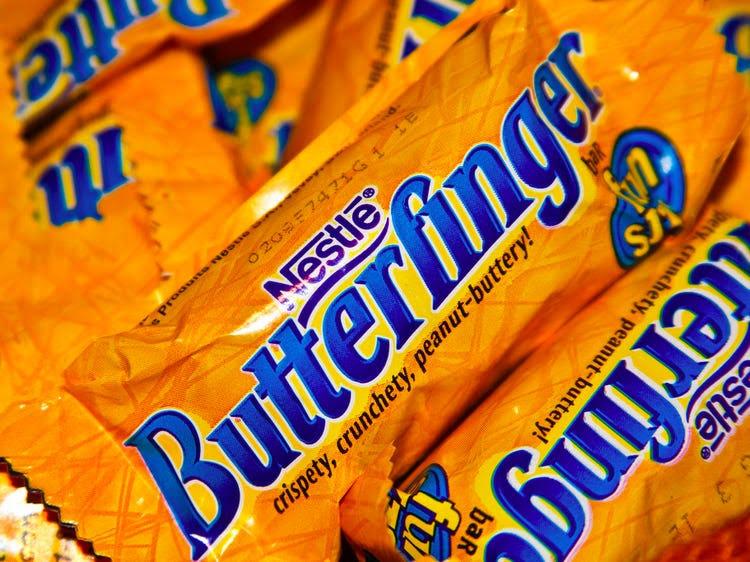 Healthy Halloween Candy Butterfinger