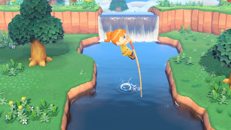 Animal Crossing New Horizons Exploring