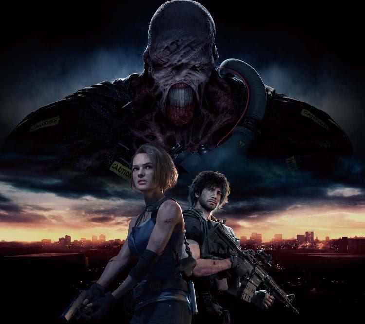 Resident Evil 3 Cover Blank