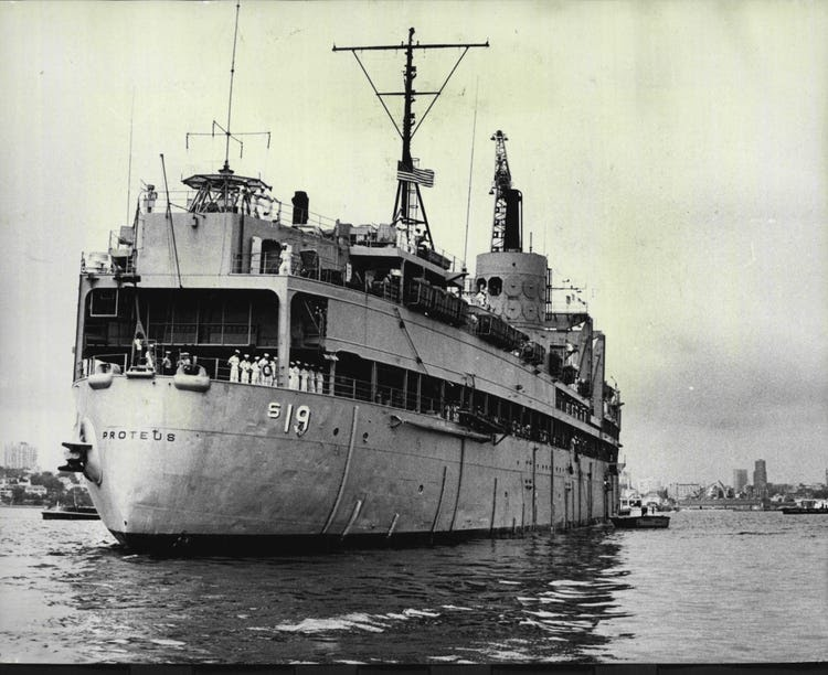 The USS Proteus