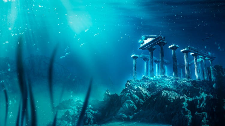 3D image of atlantis