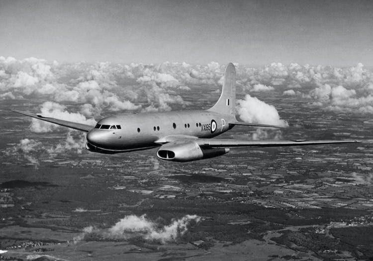 British Avro Tudor plane