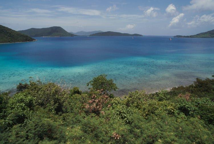 View of St. thomas island