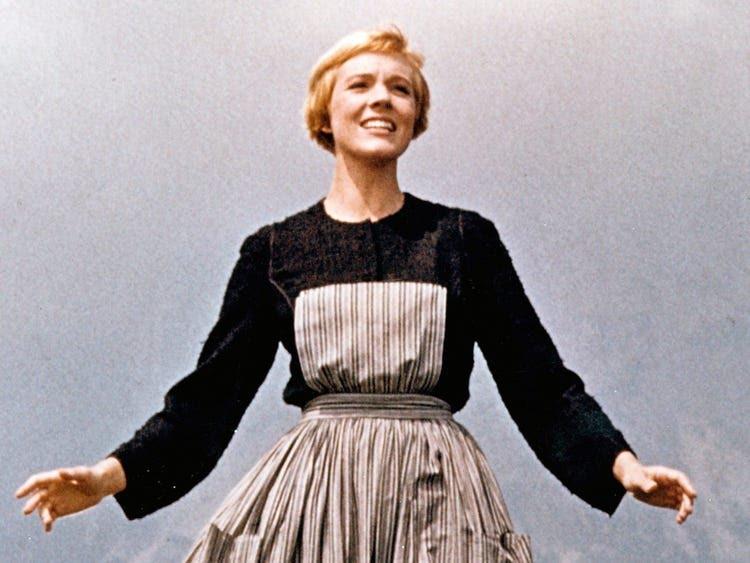Julie Andrews sound of music