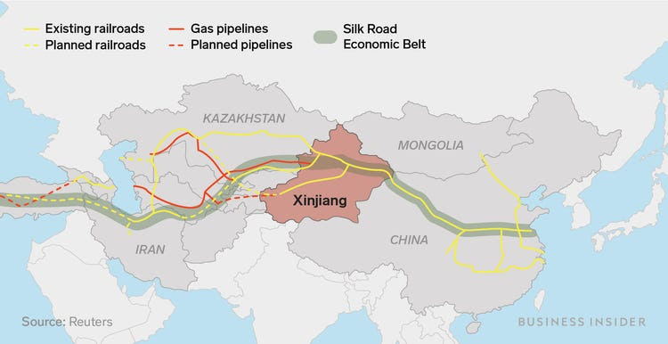 2 22 19 Belt and road map